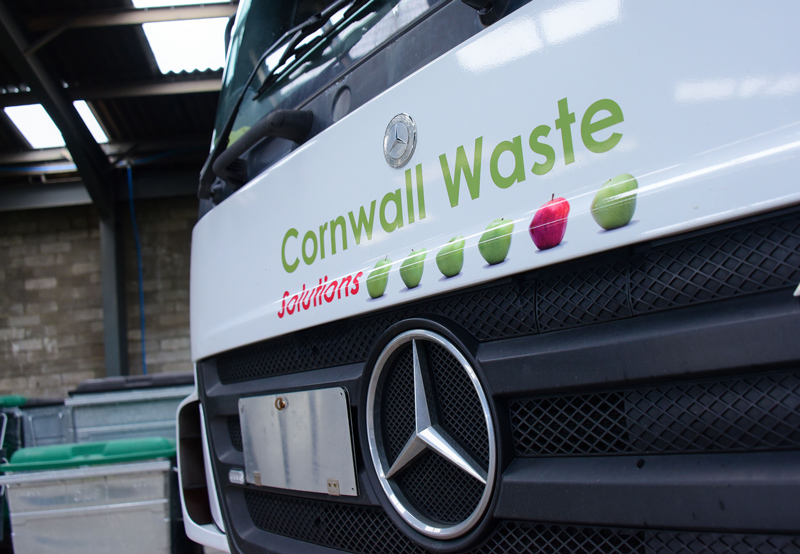 Cornwall Waste Solutions truck