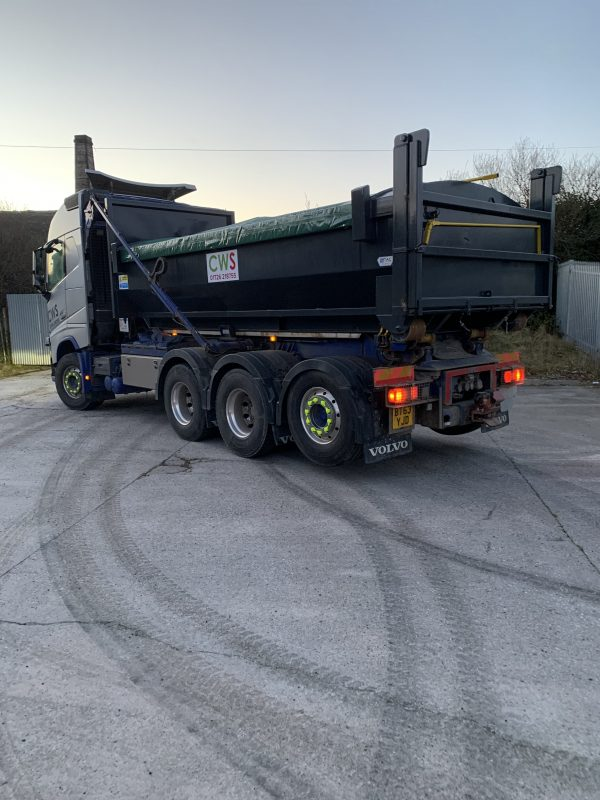 Back end new lorry